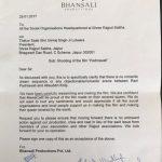 Sanjay Leela Bhansali Padmaavat open letter