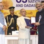 Sanjay Leela Bhansali receiving National award
