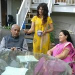 Shashaa Tirupati with her parents
