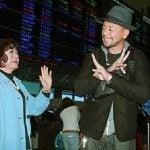 Shinsuke Nakamura with his mother