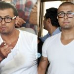 Sonu Nigam before and after shaving off his head