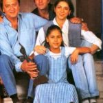 Sunil Dutt with his Son and Daughters