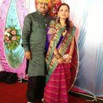 Suresh Chavhanke with his wife