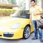 Suresh Raina Porsche Boxster