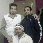 Suresh Raina with his brothers