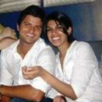 Suresh Raina with his sister