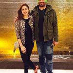 Surilie Gautam with her husband