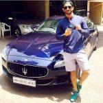 Sushant Singh Rajput Maserati Quattroporte