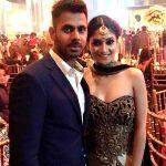Susmita roy with her husband