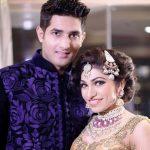 Tulsi Kumar with her husband