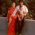 Varun Sandesh's childhood photo with his parents