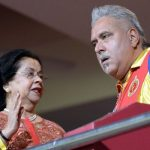 Vijay Mallya with his step mother Ritu Mallya