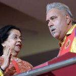 Vittal Mallya wife Ritu Mallya and son Vijay Mallya