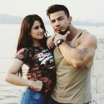 Aditi rathore with her ex-boyfriend Shreedhan Singh