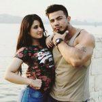 Shreedhan Singh with his ex-girlfriend Aditi Rathore