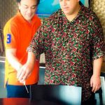 Adnan Sami with his brother