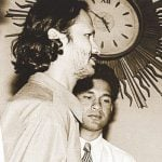 Ajit Tendulkar with Sachin Tendukar in younger days