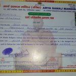 Alisha KAlisha Khan Caste Coversion Certificate