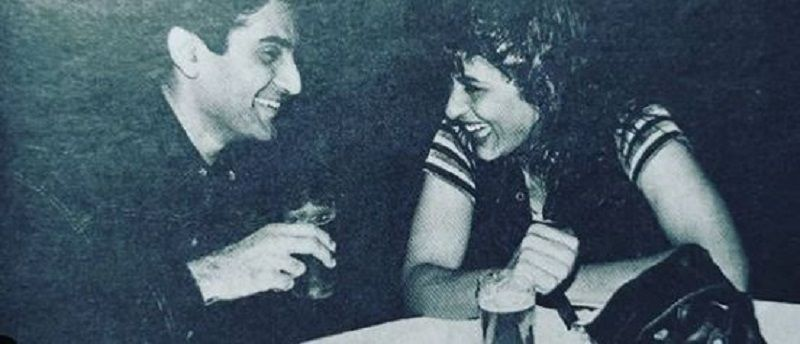 An Old Picture of Parmeet Sethi and Archana Puran Singh
