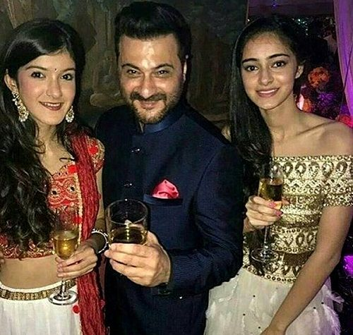 Ananya Panday drinks alcohol