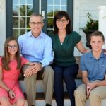 Andrew G. McCabe with his Wife and Children