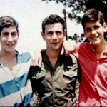 Benjamin Netanyahu with his Brothers