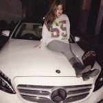 Chahat Paul with her car
