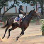 Charu Nigam Horse Riding