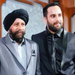 DJ Kawaljeet Singh with his father