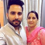 DJ Kawaljeet Singh with his mother