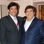 Anil Dhawan with his brother David Dhawan