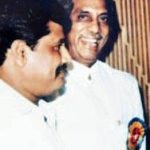Haji Mastan with his Son Sundar Shaekhar