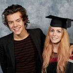 Harry Styles with his sister Gemma