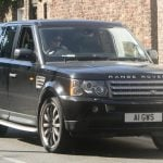 Harry in Range Rover Sport