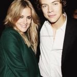 Harry with Caroline Flack