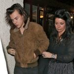 Harry with his mother Anne