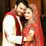 Jay Soni with his wife Pooja Shah