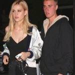 Justin Bieber With His Ex-Girlfriend Nicola Peltz