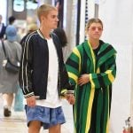 Justin Bieber With His Ex-Girlfriend Sofia Richie