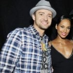 Justin Timberlake with Alicia Keys