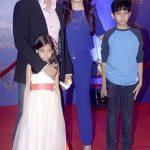 Kabir Khan with his family
