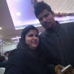 Karn Sharma with his sister