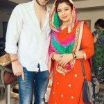 Malini Kapoor with her husband Ajay Sharma
