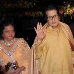 Manoj Kumar with his wife
