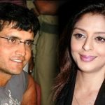 Nagma with Sourav Ganguly