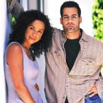 Nathan Ulrich with his Ex-wife Rae Dawn Chong