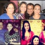 Neeru Bajwa with her family