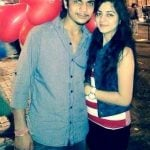 Neha Bagga with her brother
