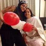 Neha Bagga with her mother