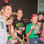 Nicky Hayden with his family